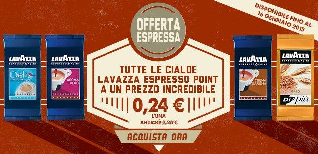 Lavazza espresso point promozione