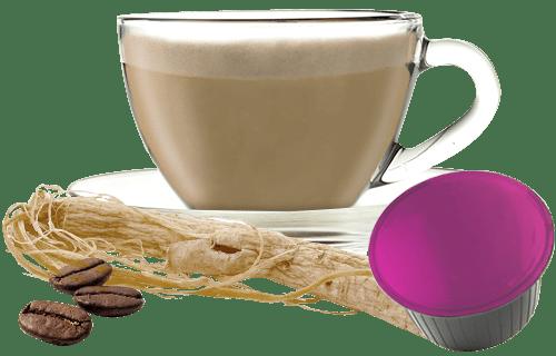 10 capsule Caffè e Ginseng compatibili Nescafé Dolce Gusto