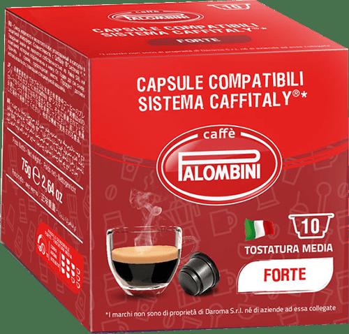 10 capsule Forte Caffè compatibili Caffitaly